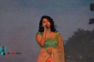 Singer Manisha Eeraini Stills in Half Saree at Nenu Local Audio Launch  0005.JPG
