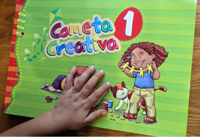 Nacho Books: Cometa Creativa 1