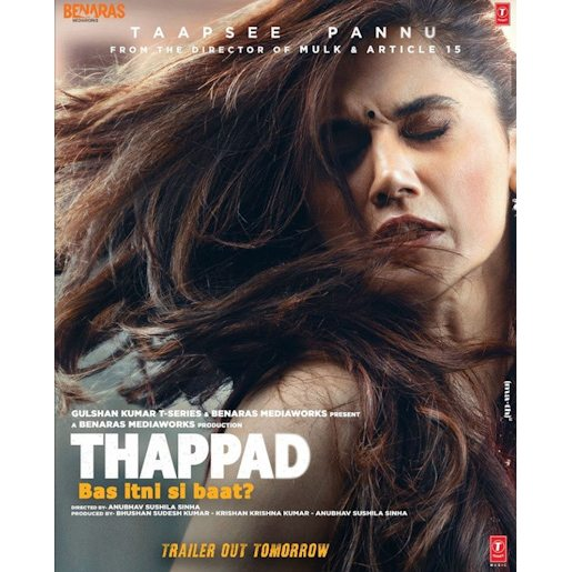 Thappad Film Trailer Review In Hindi
