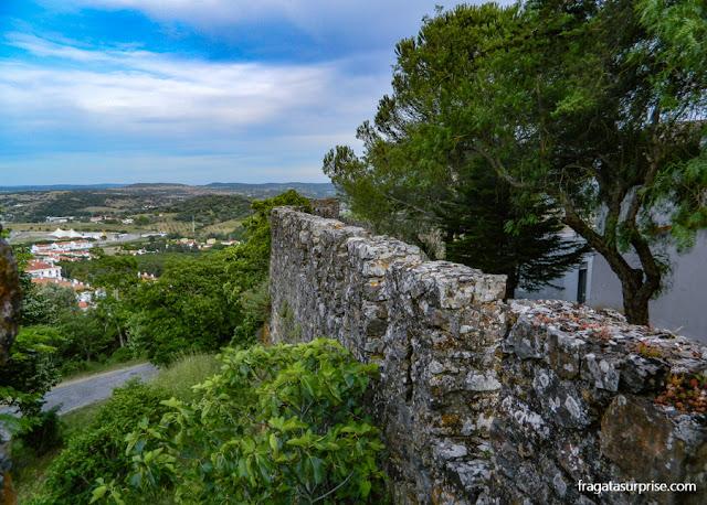 Muralhas do Castelo de Montemor-o-Novo, Alentejo, Portugal