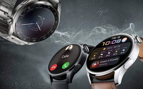 Huawei unveils Huawei Watch 3 with Harmony system