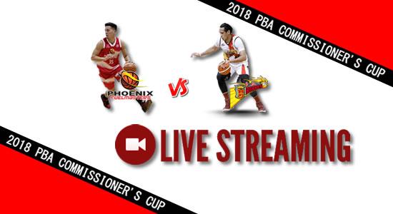 Livestream List: Phoenix vs SMB May 30, 2018 PBA Commissioner's Cup