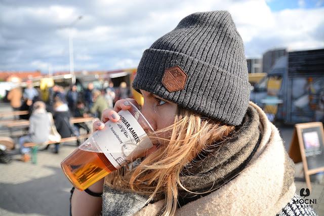 Zdjęcie: piwo amber z nalewaka