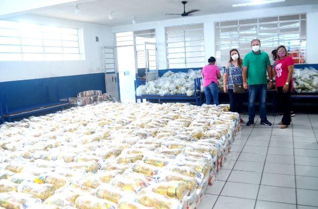 Prefeitura de Registro-SP inicia distribuição da terceira remessa de cestas de alimentação para todos os alunos da Rede Municipal