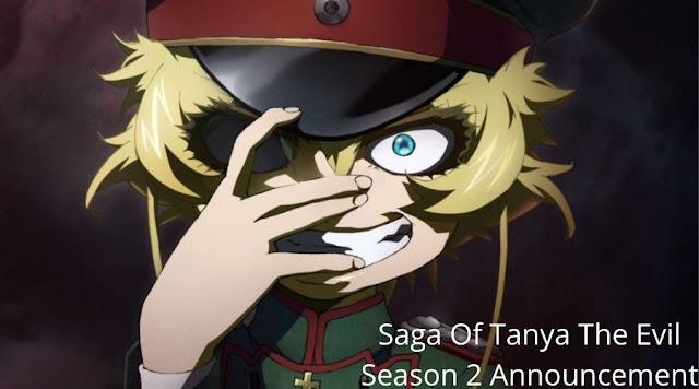 Saga Of Tanya The Evil Season 2 Announcement