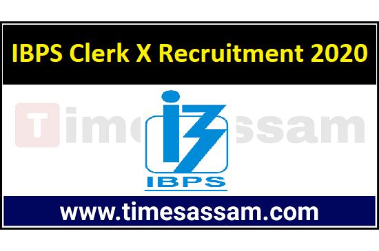 IBPS Clerk X Job 2020