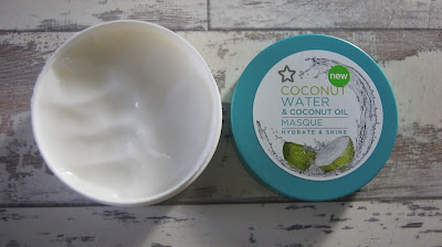 Superdrug Coconut Water & Coconut Oil Hair Masque