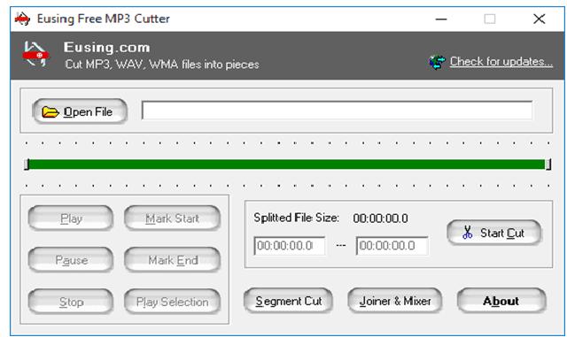 تحميل افضل برنامج تقطيع الصوت Free MP3 Cutter مجانا