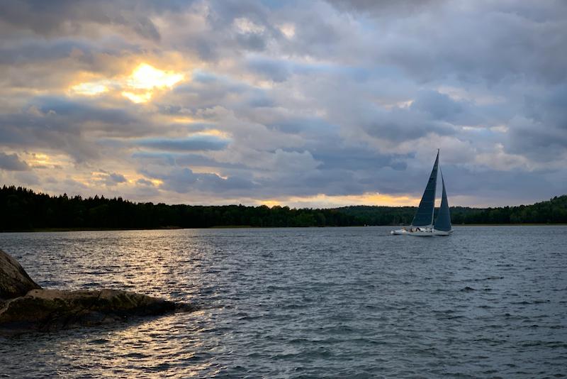 Kappsegling Kalvfärden Tyresö båtklubb