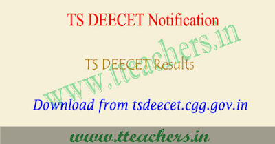 TS DEECET Results 2019, Dietcet result 2019 download telangana
