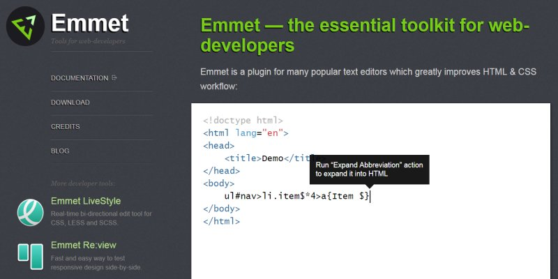 前端開發神器 Emmet 快速上手教學整理,減少 HTML / CSS 輸入的麻煩﹍Sublime Text