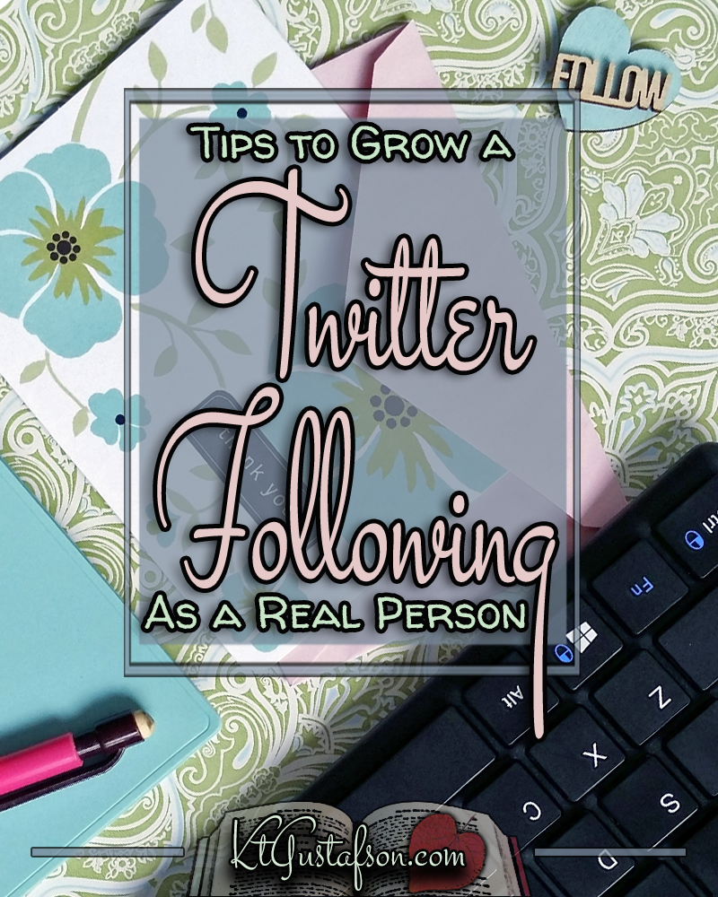 Grow a twitter following