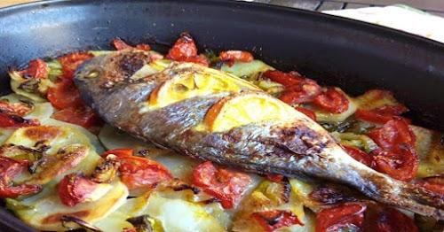 Pescado al horno tradicional