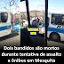 Dois bandidos são mortos durante tentativa de assalto a ônibus em Mesquita