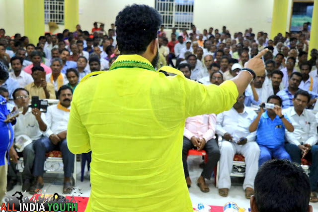 Ram Mohan Naidu in town hall wallpaper