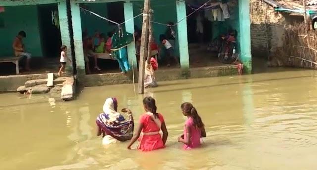 जगवन में दवा लाने गए युवक की डूबने से हुई मौत, गांव में पसरा मातम