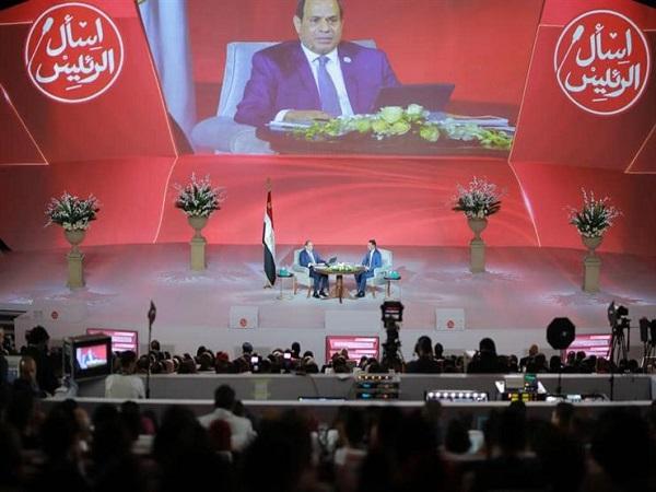 يوم السبت انطلاق المؤتمر الوطني الثامن للشباب برعاية الرئيس السيسي اسأل والرئيس يجيب