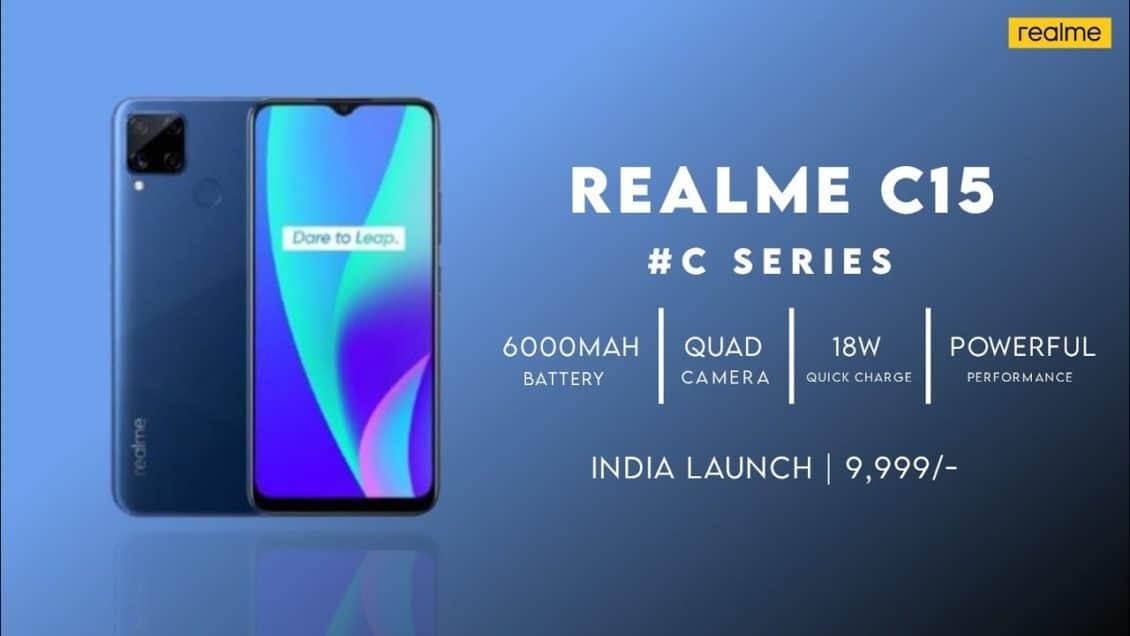 Realme plans to launch Realme C15 next week