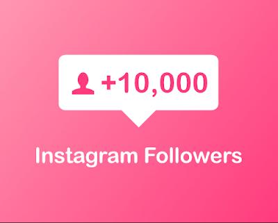 10,000 Instagram followers