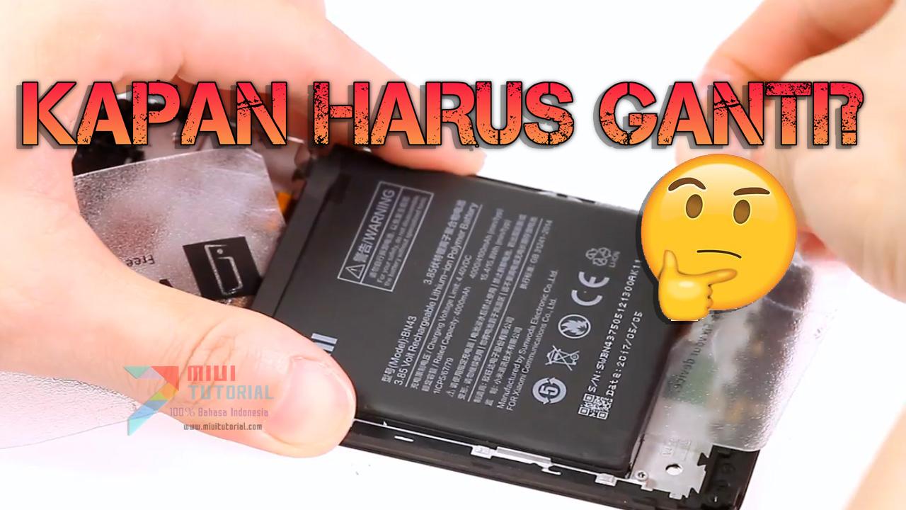 Idealnya Berapa Lama Harus Ganti Baterai Xiaomi Dan Bagaimana Cara Mengetahui Serta Menggantinya Berikut Penjelasan Lengkapnya