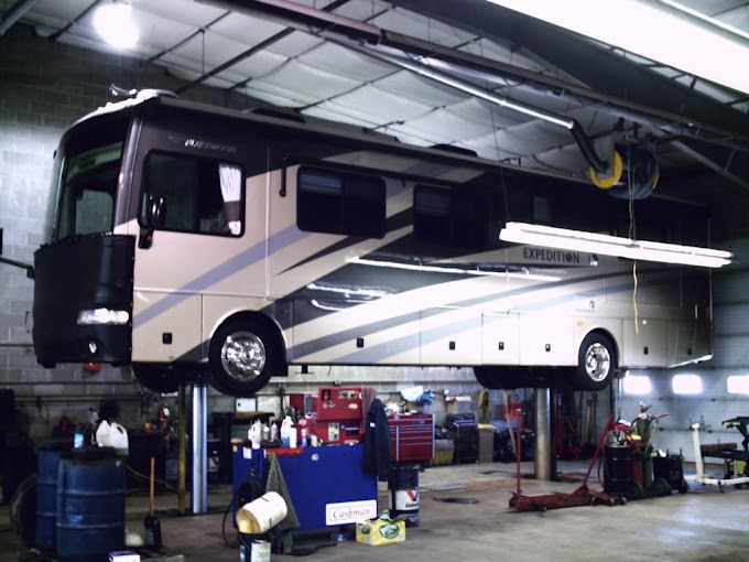 What are the Motorhome's Primary Components that needs Regular Servicing?