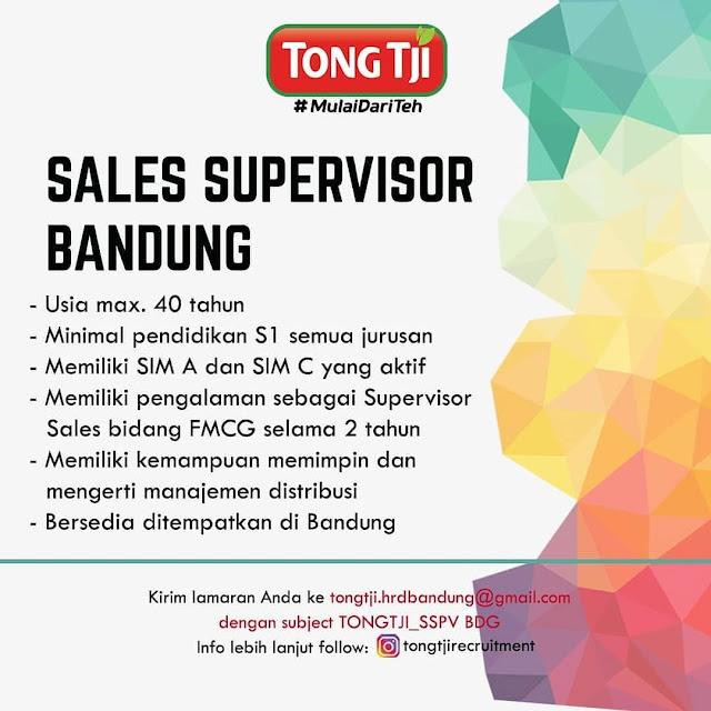 Lowongan Kerja Teh Tongji Bandung