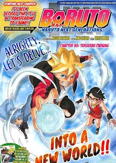 Update! Baca Manga Boruto Chapter 35 Full Sub Indo