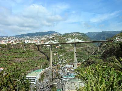 Autopistas , Vía rápida, Madeira, Portugal, La vuelta al mundo de Asun y Ricardo, round the world, mundoporlibre.com
