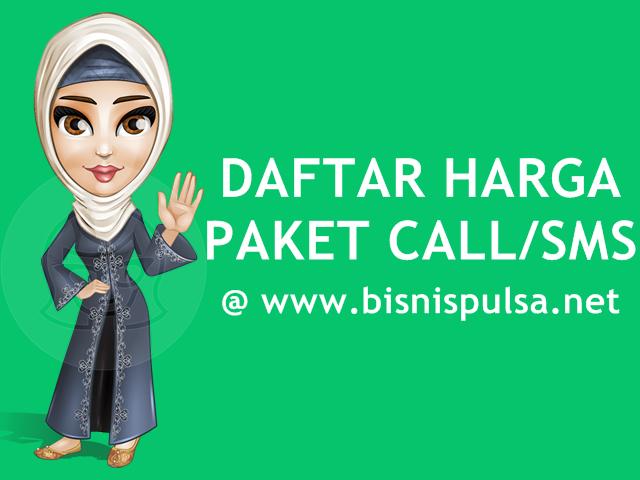 Daftar Harga Paket Nelpon dan SMS Murah BisnisPulsa.net