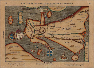 Penggambaran Europa Regina