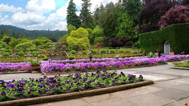 Jardín Italiano Butchart Garden