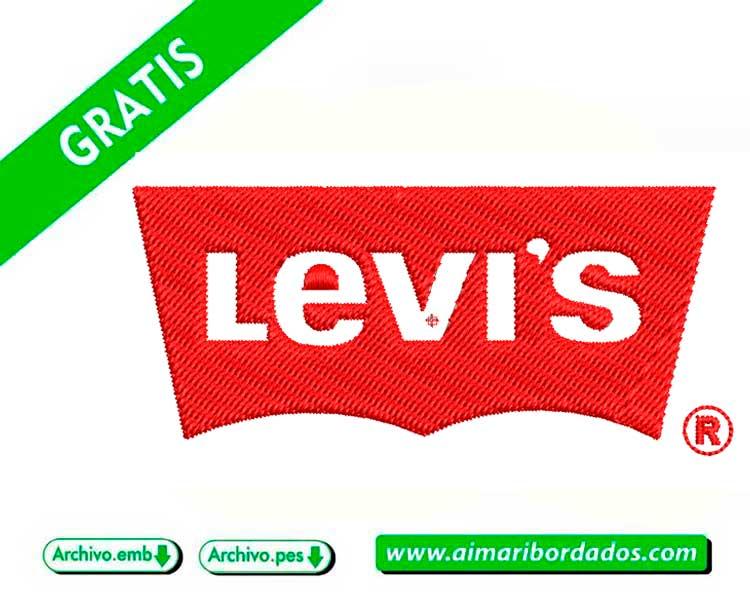 Logo Levis para bordar a máquina DESCARGA GRATIS