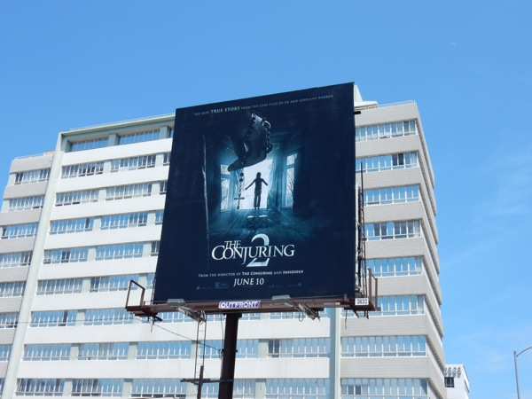 The Conjuring 2 movie billboard