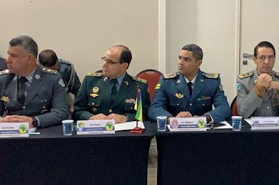Subcomandante da Polícia Militar participa de encontro com Presidente da República