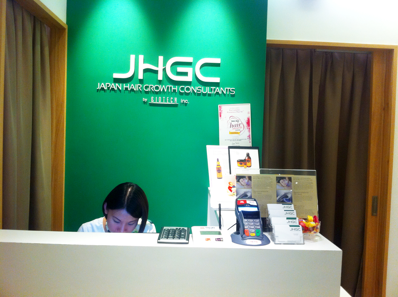 Sakura Lisha My First Experience At Japan Hair Growth Consultants
