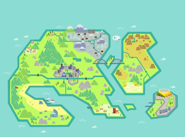 Mapa Pokémon