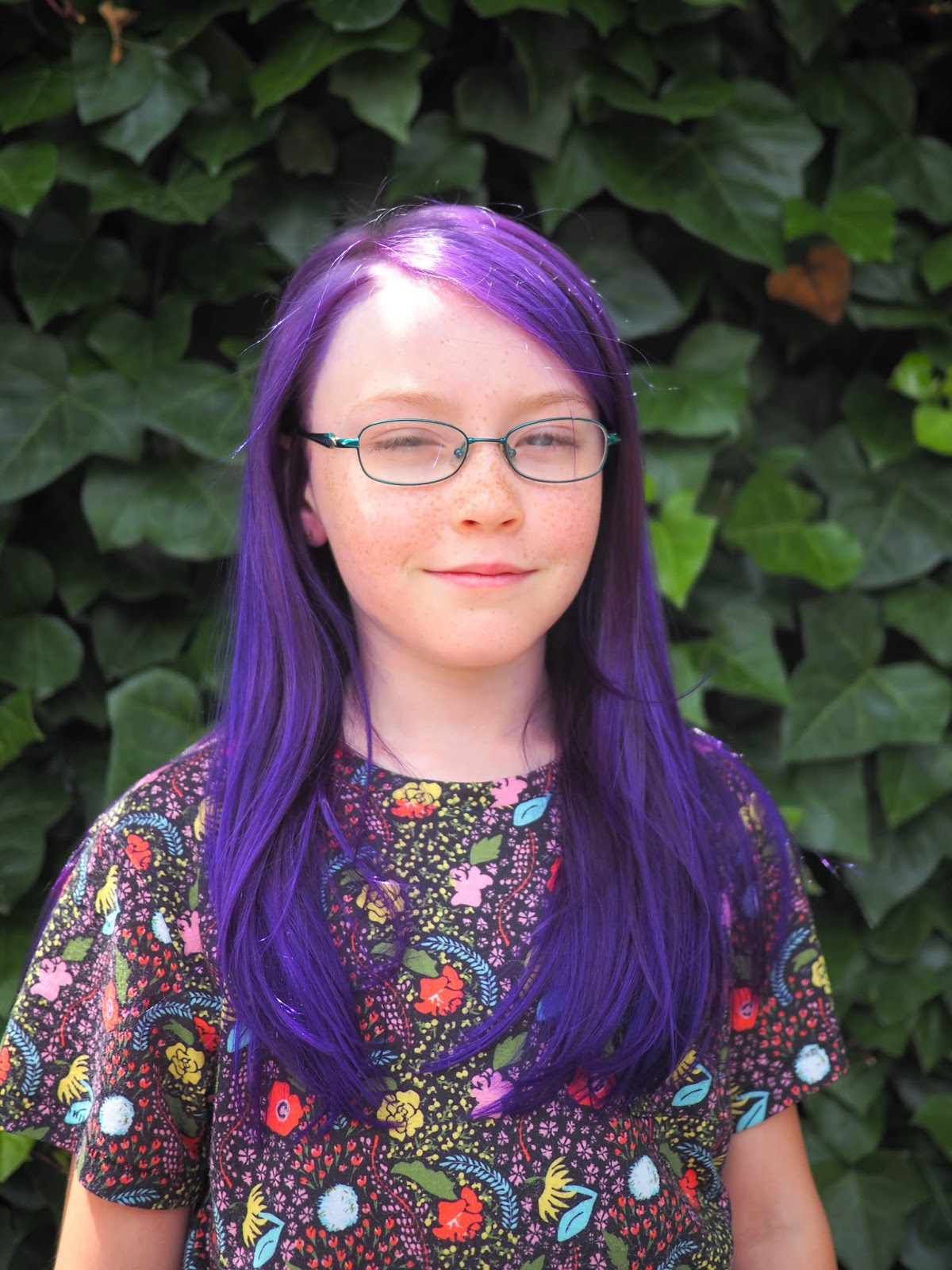 Little Hiccups: Purple Hair