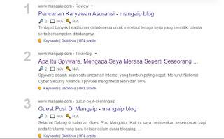 Cara Menampilkan Postingan Blog Di Halaman Pencarian Google