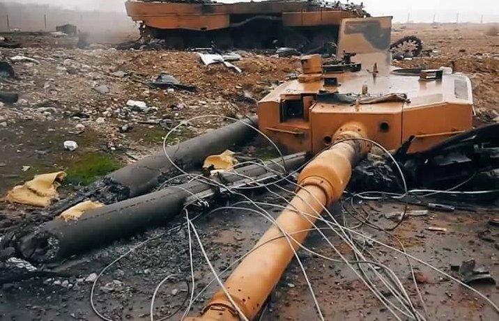 Syrian War: News #15 - Page 22 Destroyed%2BLeo2%2BTurkey1