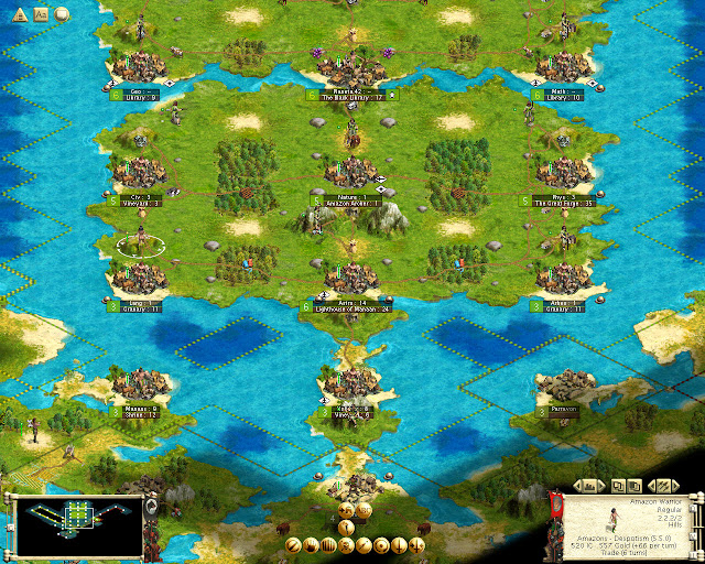 Civilization 3 | Warhammer Fantasy Mod Map