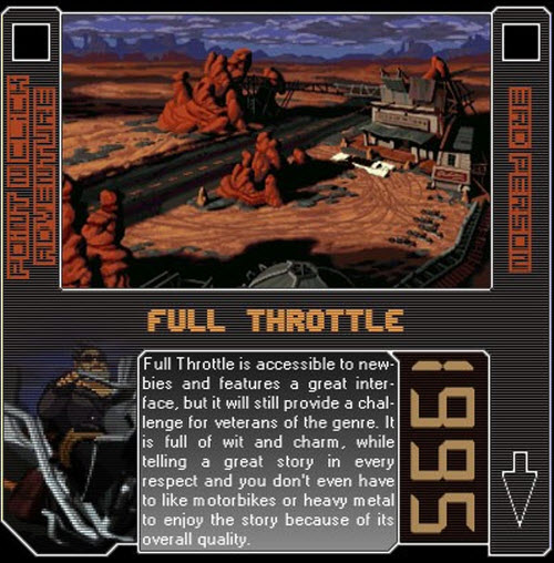 1995 - Full Throttle