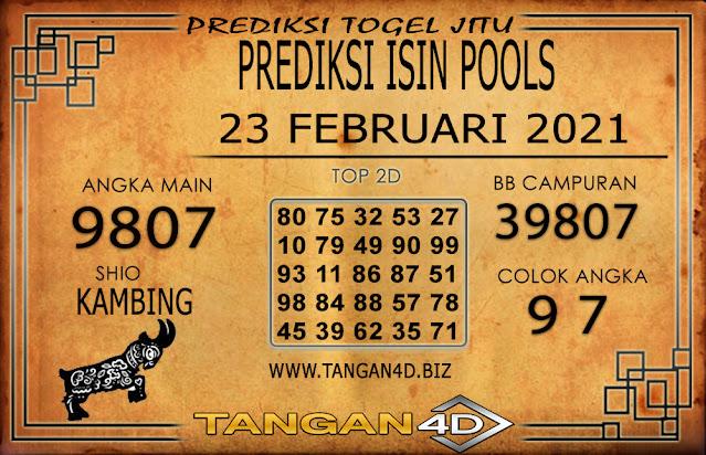 PREDIKSI TOGEL ISIN TANGAN4D 23 FEBRUARI 2021