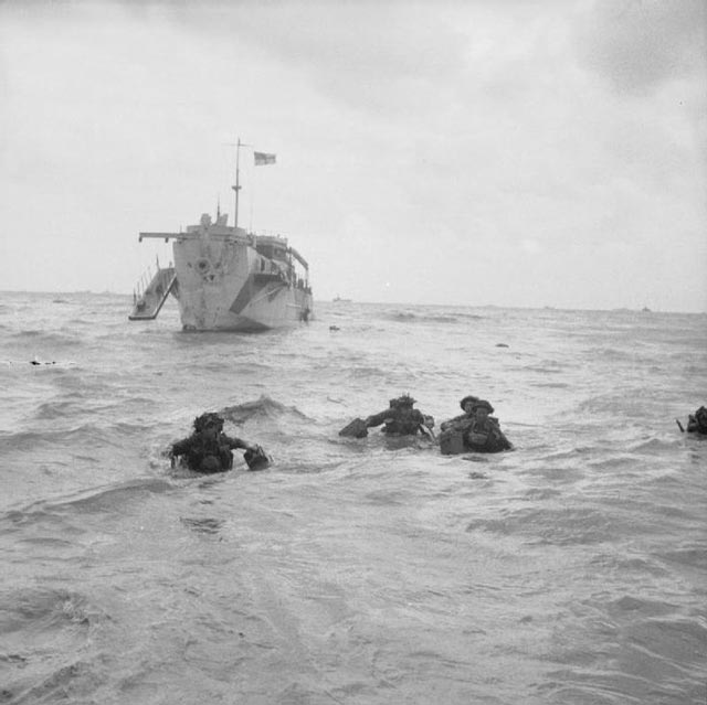 Landing Craft on D-Day during World War II worldwartwofilminspector.com