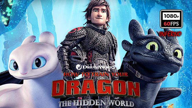 Cómo Entrenar a tu Dragón 3 (2019) BDRip 1080p 60FPS Latino-Castellano-Ingles