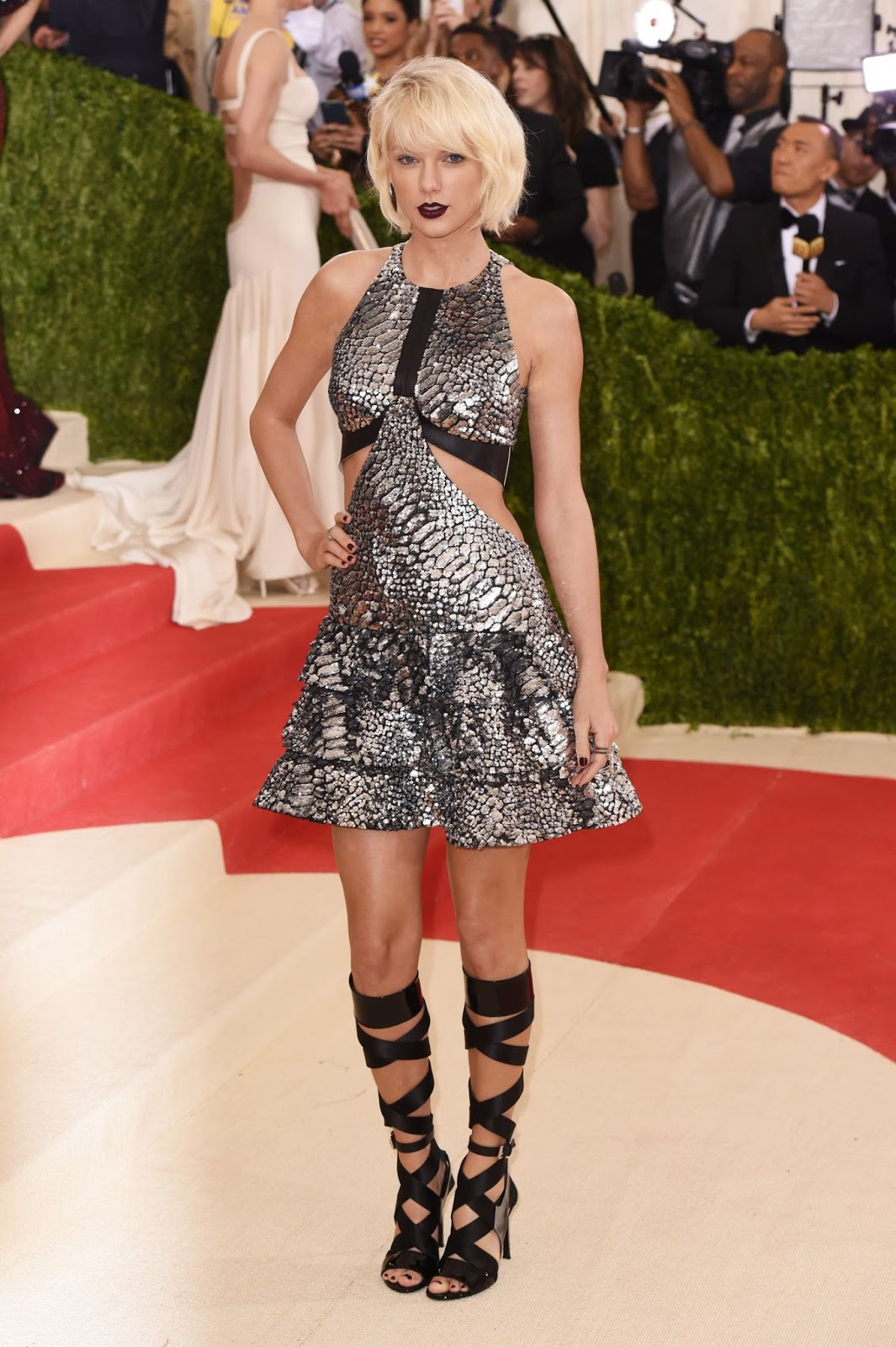 Taylor Swift at Costume Institute Gala in New York City
