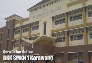 Cara Daftar Online BKK SMKN 1 Karawang