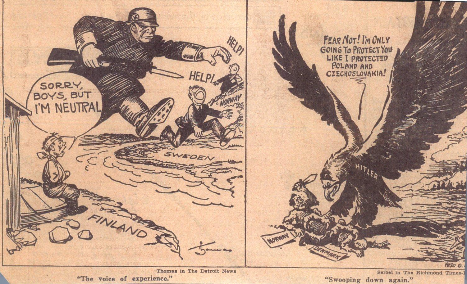 American Politics in World War 2?