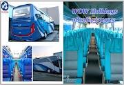 Bus Pariwisata Medan Eksekutif