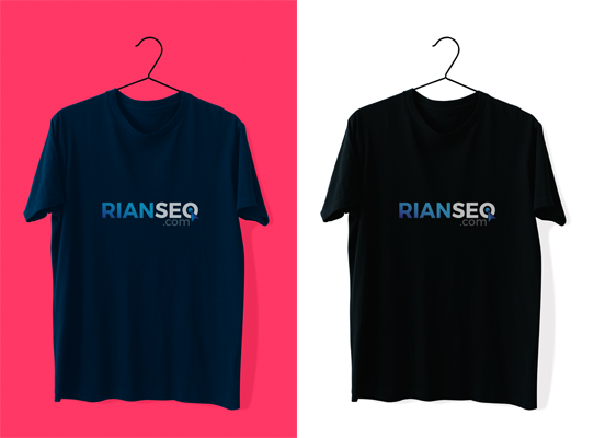 Download T-Shirt Mockup Kaos Polos Format PSD Gratis by Rian SEO