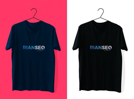 Download T-Shirt Mockup Kaos Polos Format PSD Gratis by Rian SEO